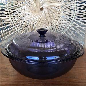 Vintage Purple Pyrex Casserole Dish w/ Lid